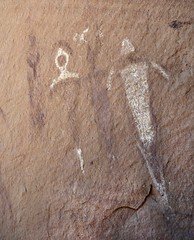 Pictographs / Mill Creek Canyon (Ron Wolf) Tags: anthropology archaeology moab nativeamerican anthromorph anthropomorph pictograph utah