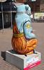 Dharma Rear (ahisgett) Tags: birmingham children's hospital charity wild art big sleuth 2017 bearmingham bear sculpture street