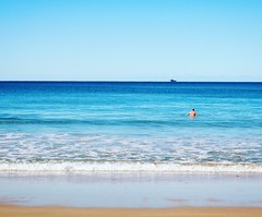Sea Beach Water Vacations Horizon Over Water Blue One Person Adults Only Leisure Activity Surfing Sand Adult Summer Only Men Outdoors Tranquility Full Length Nature Clear Sky Sky (antorobinson) Tags: sea beach water vacations horizonoverwater blue oneperson adultsonly leisureactivity surfing sand adult summer onlymen outdoors tranquility fulllength nature clearsky sky