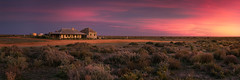 One Tree Hotel (Trevor Tutt) Tags: onetree nsw hay outback sunrise panoramic panorama australia hotel sky bush trevortutt canon 5dmarkiv