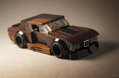 Rusty Slammington (_Tiler) Tags: lego car vehicle bmw bmwe28 rustyslammington rusty hotrod ratrod stanceworks mikeburroughs