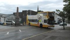 18305, St. Marychurch, Torquay, 18/07/17 (aecregent) Tags: stmarychurch torquay 180717 stagecoachsouthwest trident alx400 opentopper 18305 wa05mhe porter porterthepenguin 122 hop122