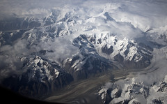 Alaska glaciers mountains