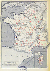 French Products (sjrankin) Tags: illustration map historic 20july2017 edited library britishlibrary commerce products minerals mining economy france