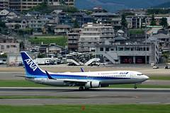 All Nippon Airways JA54AN (Howard_Pulling) Tags: fukuoka airport fuk fukairport japan japanese howardpulling