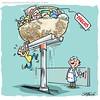 subida de precios (Caricaturascristian) Tags: y siguen subiendo altos precios productos especulación agiotismo robo asalto rd