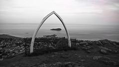 Jaw (tobymeg) Tags: microsoft lumia 640 lte north berwick scotland law hill tor mound whale jaw bone