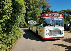 TDL 564K Mendip Mule Bristol RELL ECW St Lawrence (focus- transport) Tags: isle wight railway tdl 564k mendip mule southern vectis svoc bristol rell ecw london underground 1938 stock ng 1109 reo safety bus herbert taylor brading ryde freshwater culver down luccombe shanklin