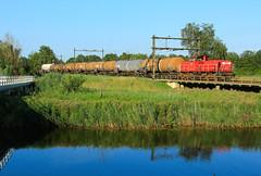 DB Cargo 6412 @ Zwolle (Sicco Dierdorp) Tags: db dbc cargo serie6400 onnen kijfhoek zwolle herfte meppel keteltrein ketelwagen afvoertrein