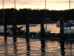 Back to Poulsbo for fireworks (LarrynJill) Tags: evie mady sailing summer poulsbo grandkids family wa independenceday july4