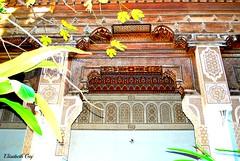 MAROCCO 01-2015 034 (Elisabeth Gaj) Tags: maroco012015 elisabethgaj marocco afryka marrakech travel architecture building bahiapalace