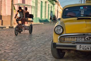 Taxis in Trinidad (Cuba)