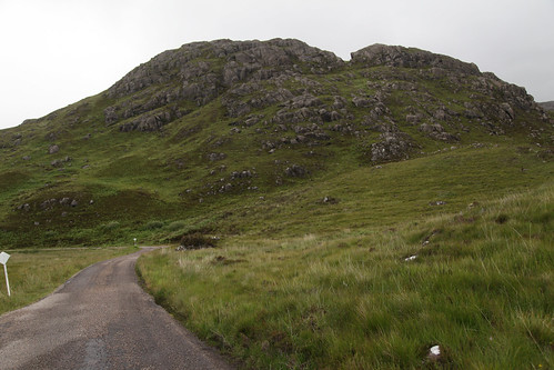 Eroded rim of fomer volcano  - Ardnamurchan