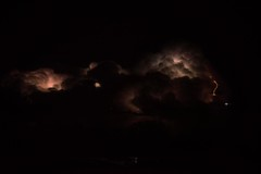 Red Lightning (mickhail93) Tags: lightning weather thunder night sky cloud storm nikon nature landscape