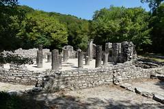 0014 Baptistry, Butrint (6) (tobeytravels) Tags: albania butrint buthrotum illyrian baptistry