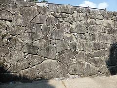 Making the rocks fit in the wall (Stop carbon pollution) Tags: japan 日本 honshuu 本州 touhoku 東北 fukushimaken 福島県 nihonmatsu 二本松