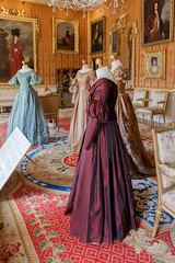 Dresses in the Cinnamon Drawing Room (Carol Spurway) Tags: 1839 1840 cinnamon cinnamondrawingroom drawing room duchessofsutherland hha historichousesassociation harewood harewoodhouse harrogate itv jennacoleman ladiesinwaiting ladyinwaiting leeds treasurehousesofengland victoria wetherby yorkshire beaded costume drama dress film filmseries interior puffedsleeve puffsleeve rooms shortsleeve longsleeve stateeveningdress daydress hh historichouses