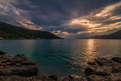 After the rain (Vagelis Pikoulas) Tags: rain sun sunset sunburst sea seascape landscape porto germeno greece europe canon 6d tokina 1628mm july summer 2017