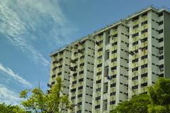 HDB flats in Singapore (Robert-Ang) Tags: flats publichousing singapore apartments hdb building clouds