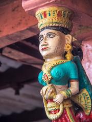 Mumbai 2015 (hunbille) Tags: mumbai birgittemumbai1lr india shree jagnath mahadev mandir shreejagnathmahadevmandir temple malabarhill malabar hill bangangatank banganga tank lake bombay