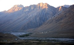 Sunrise Spiti Valley, India 2016 (reurinkjan) Tags: india 2016 ©janreurink himachalpradesh spiti kinaur ladakh jammuandkashmir kargil spitivalley himalayamountains himalayamtrange himalayas landscapepicture landscape landscapescenery mountainlandscape sunrise
