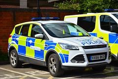 VX66 BKD (S11 AUN) Tags: warwickshire police ford kuga 4x4 rural panda car incident response vehicle irv vx66bkd