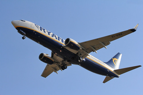 Ryanair / Boeing 737-800 / EI-ENX