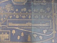 Augusta, GA Georgia Regents University - brass map (army.arch) Tags: augusta georgia ga arsenal army college university augustaarsenal georgiaregentsuniversity adaptivereuse brass map