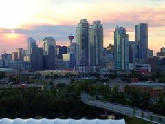 smoky Saturday night sunset Calgary (LUMIN8) Tags: s