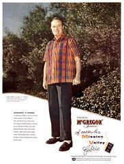 Bob Hope for McGregor Sportswear, 1956 ad (Tom Simpson) Tags: bobhope mcgregor sportswear 1956 ad 1950s vintage actor ads advertising advertisement vintagead vintageads