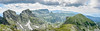 Northwestern Rila - Panoramic view (Rivo 23) Tags: rila mountain malyovitsa peak orlovets zliyat zab northwestern kamilata bulgaria рила планина връх мальовица злият зъб орловец камилата българия панорама