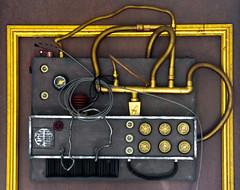 Steampunk Control Panel Art (Orbmiser) Tags: steampunk 55200vr art controls d90 knobs nikon oregon piping portland summer