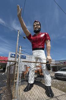 Muffler Man at White's Tire, Wilson, NC