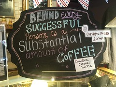 behind every successful person is a substantial amount of coffee (timp37) Tags: sign plush horse coffee every substantial successfu person illinois july 2017 palos
