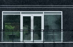 Apartment in the Rain (otterman51) Tags: abstract architecture canada niagararegion ontario port stcatharines apartment art cloudyskies condo g home ortbaldaufcom photography rain