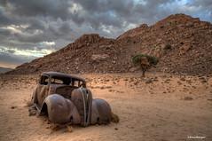 The old Hudson (Anne.Berger) Tags: namibia namibrandnaturereserve kleinausvista eaglesnest autowrack wreck desert wüste theoldhudson