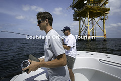 CocodrieCharterFishing (11) WM (Louisiana Tourism Photo Database) Tags: fishing gulf gulfofmexico southernunitedstates angler anglers boating catchingfish charterboat offshore oiandgasrigs outdoorsports outdoors redsnapper southlouisiana water cocodrie louisiana usa