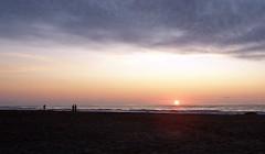 Sonnenaufgang über dem Meer (loitz79) Tags: fra frankreich geo:lat=4313098500 geo:lon=314234500 geotagged gruissan languedocroussillon vires mittelmeer plagedesayguades sonne sonnenaufgang strand