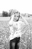 Toddler girl in black and white posing in corn field (alexander.dischoe) Tags: toddler girl mädchen weizenfeld corn nikon d800 nikond800 nikkor2470mm outdoor blackandwhite bw sw schwarzweiss monochrome