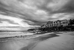 DSC01464 (Damir Govorcin Photography) Tags: bondi sydney water clouds monochrome landscape blackwhite natural light zeiss 1635mm sony a7ii perspective creative composition