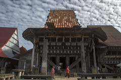 The Chief's House - Bawomataluo village (Hannes Rada) Tags: indonesia nias island bawomataluo traditional house