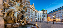 _MG_0450_web - Sleeping beauty of old Vienna (AlexDROP) Tags: 2017 vienna wien austria österreich travel architecture sunrise palace bluehour color city wideangle urban nighttime scape landmark canon6d ef16354lis historicalplace best iconic famous mustsee picturesque postcard panoramic hdr