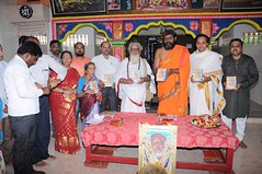 A Longest Duration Audio DVD SRI GURUSAMHITAA, Sung By Chinmaya M.Rao Releasing Event Photos (63)
