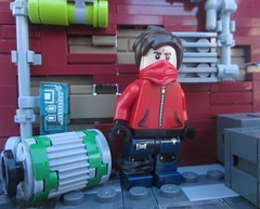 FANTXTIK CONTEST ENTRY: Marly Neail (Marley Mac) Tags: lego marleymac fantxtik contest entry superhero minifig minifigure mini figure
