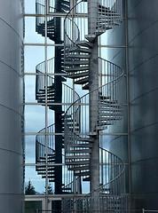 Spiral Staircase in Reyjkavik, Iceland (Églantine) Tags: iceland staircase spiralstaircase perlan reyjkavik architecture
