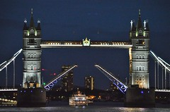 Dixie Queen (2) @ Tower Bridge 21-07-17 (AJBC_1) Tags: riverthames london dixiequeen thamesluxurycharters paddlesteamer touristboat dlrblog ©ajc england unitedkingdom uk partyboat passengerboat nikond3200 night ship boat vessel shipsinpictures transportation transport towerbridge landmark landmarks upperpool cityoflondon pooloflondon nighttime
