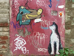 Toronto 2017 (bella.m) Tags: graffiti streetart urbanart toronto canada art tbonez wheatpaste pasteup cat ninja parkdale