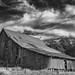 DSCF5508-2001.jpg (RHMImages) Tags: barn monochrome dramaticsky fujifilm blackandwhite x100f nevadacounty fuji bw grassvalley mccourtneyroad clouds explore