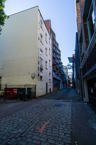 Blood Alley (south of Water, west of Carrall)