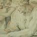 RUBENS (d'Après BUONARROTI Michelangelo) - La Sibylle de Cumes, Chapelle Sixtine (drawing, dessin, disegno-Louvre INV20226) - Detail 09